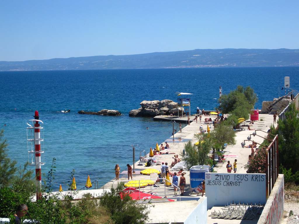 Bacvice Beach, Split