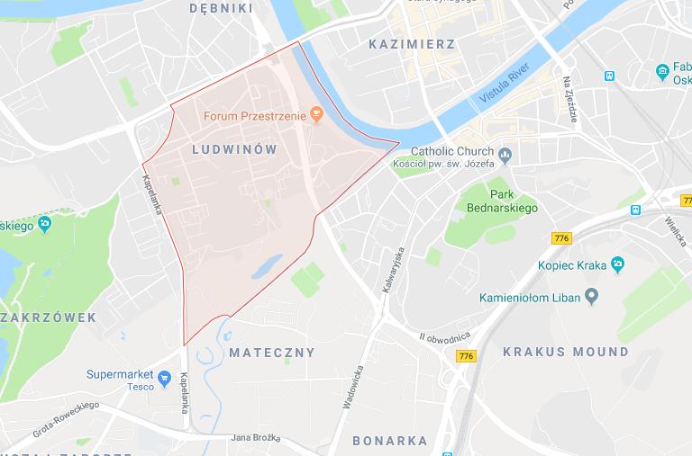 Ludwinów, Kraków