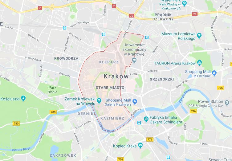 Stare Miasto, Kraków