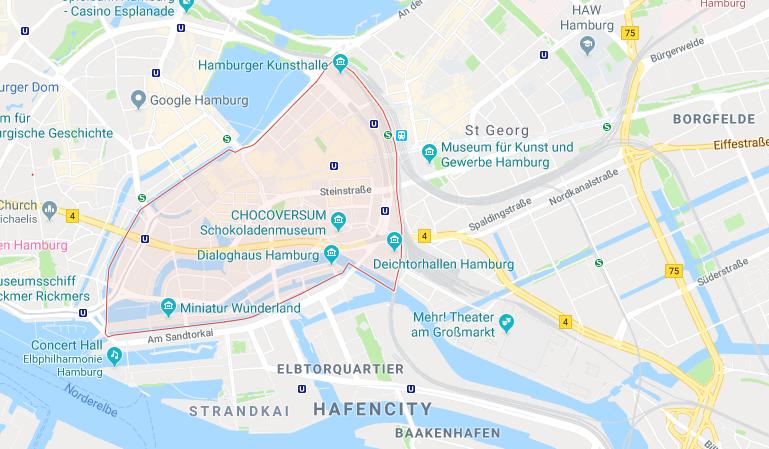 Altstadt, Hamburg
