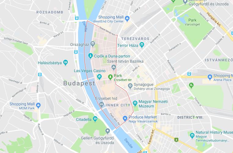 District V - Belváros-Lipótváros, Budapest