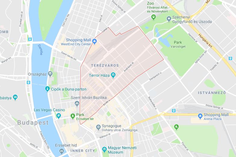 District VI - Terézváros, Budapest