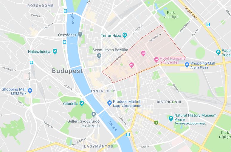 District VII - Erzsébetváros, Budapest