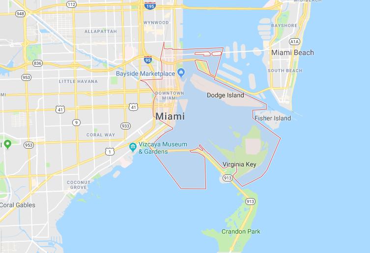 Downtown Miami, Miami