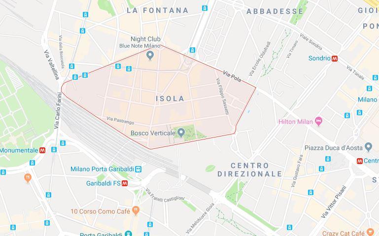 Isola, Milan