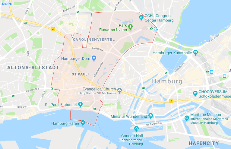 St. Pauli, Hamburg