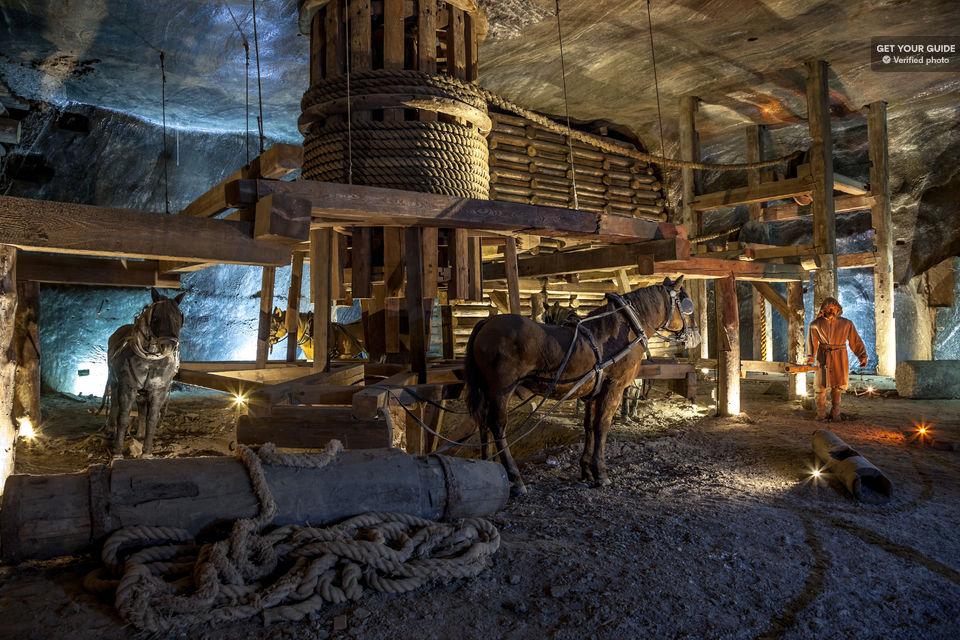 Descend into Wieliczka Salt Mine