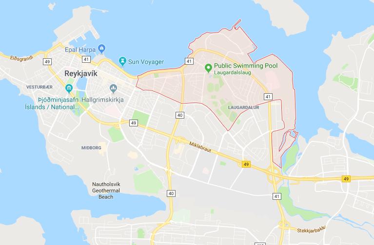 Laugardalur, Reykjavík