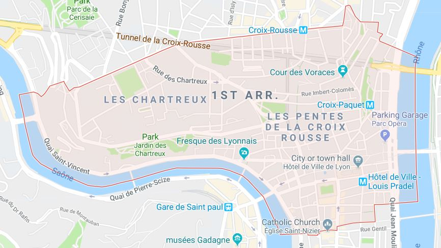 The 1st Arrondissement