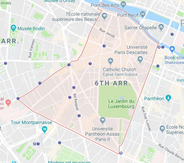 The 6th Arrondissement