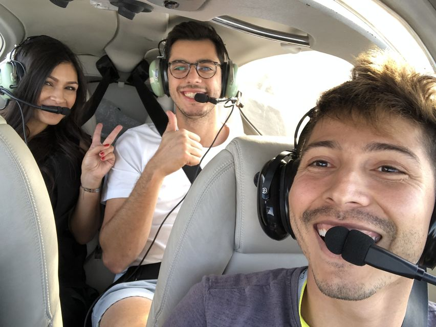 Fly-over-LA