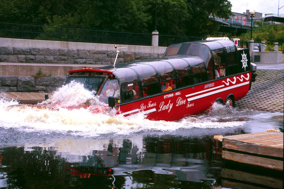 Ride-an-Amphibious-Vehicle