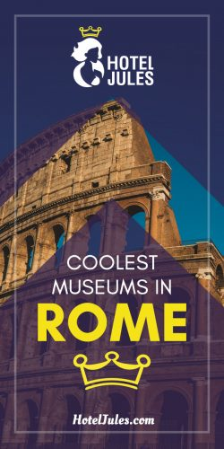21 COOLEST Museums in Rome  [May 2019]