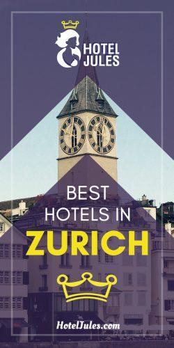 17 BEST HOTELS in Zurich [[date]!]