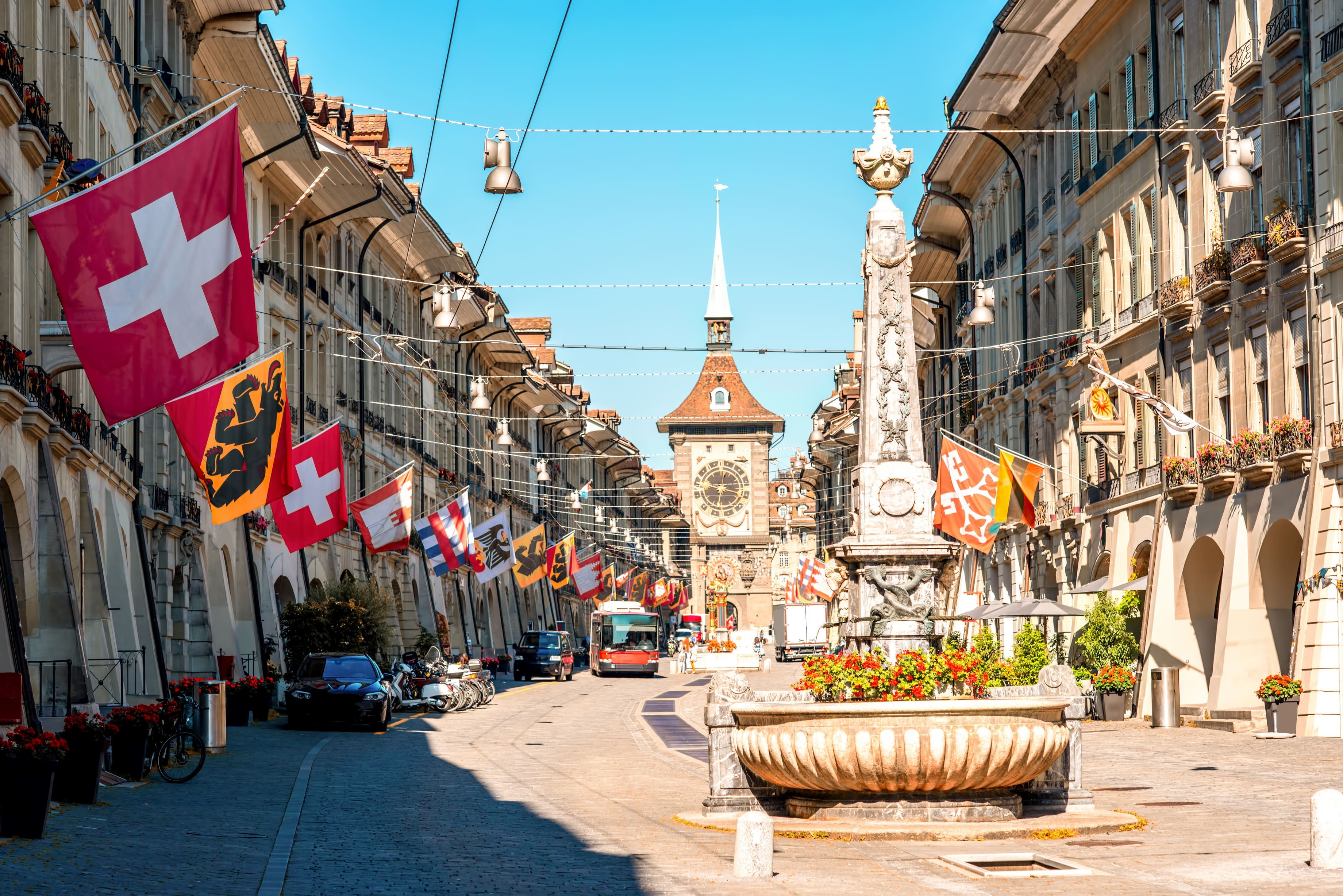 Bern, Zurich