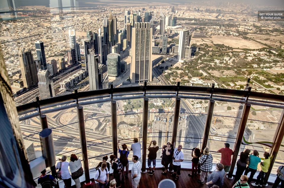 Burj Khalifa Tour 124th, 125th, and 148th floor