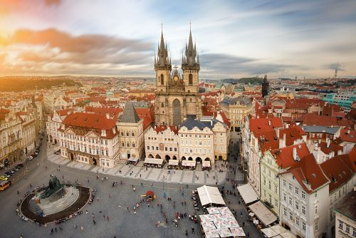 History of Architecture in Prague