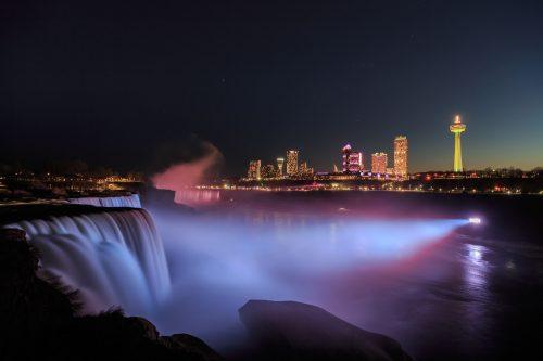 Niagara Falls Evening Lights Cruise, Canada