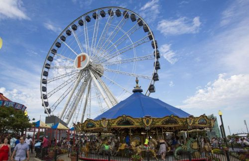 Ride the Centennial Wheel