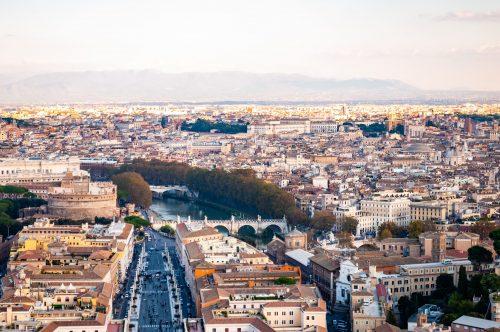 Rome Population History