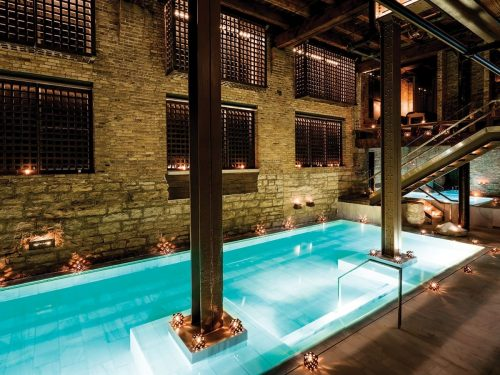 Soak in the Aire Ancient Baths,