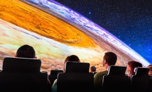 Star-gazing at the Adler Planetarium,
