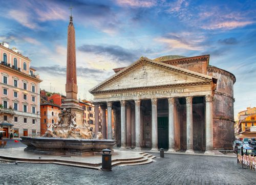 The Pantheon History