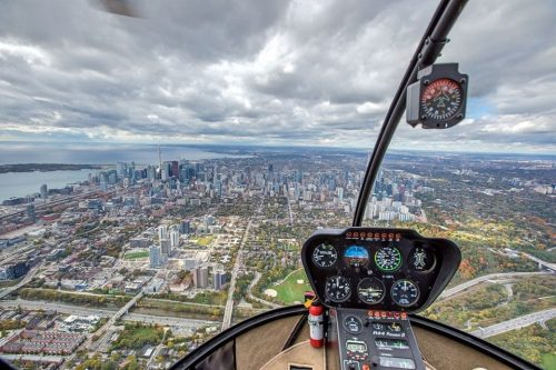 Toronto City Sightseeing Helicopter Tour, Canada