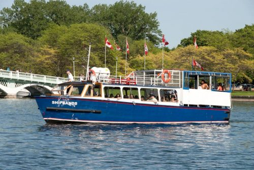 Tour of the Toronto Harbour and Surrounding Islands, Canada