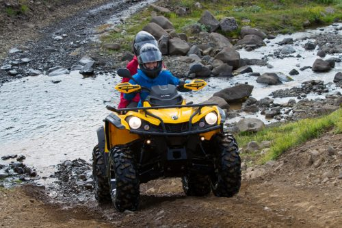 ATV and Helicopter Tour