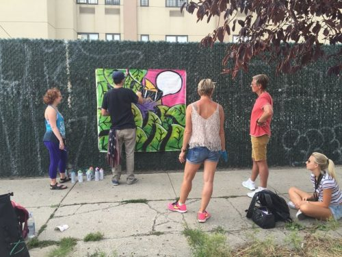 Brooklyn Graffiti Lesson