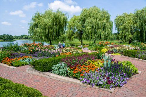 Chicago Botanic Gardens, illinois