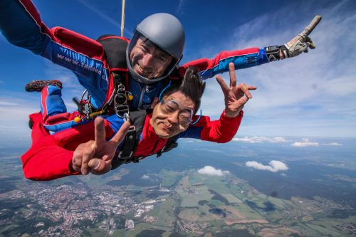 Half-Day Tandem Skydiving