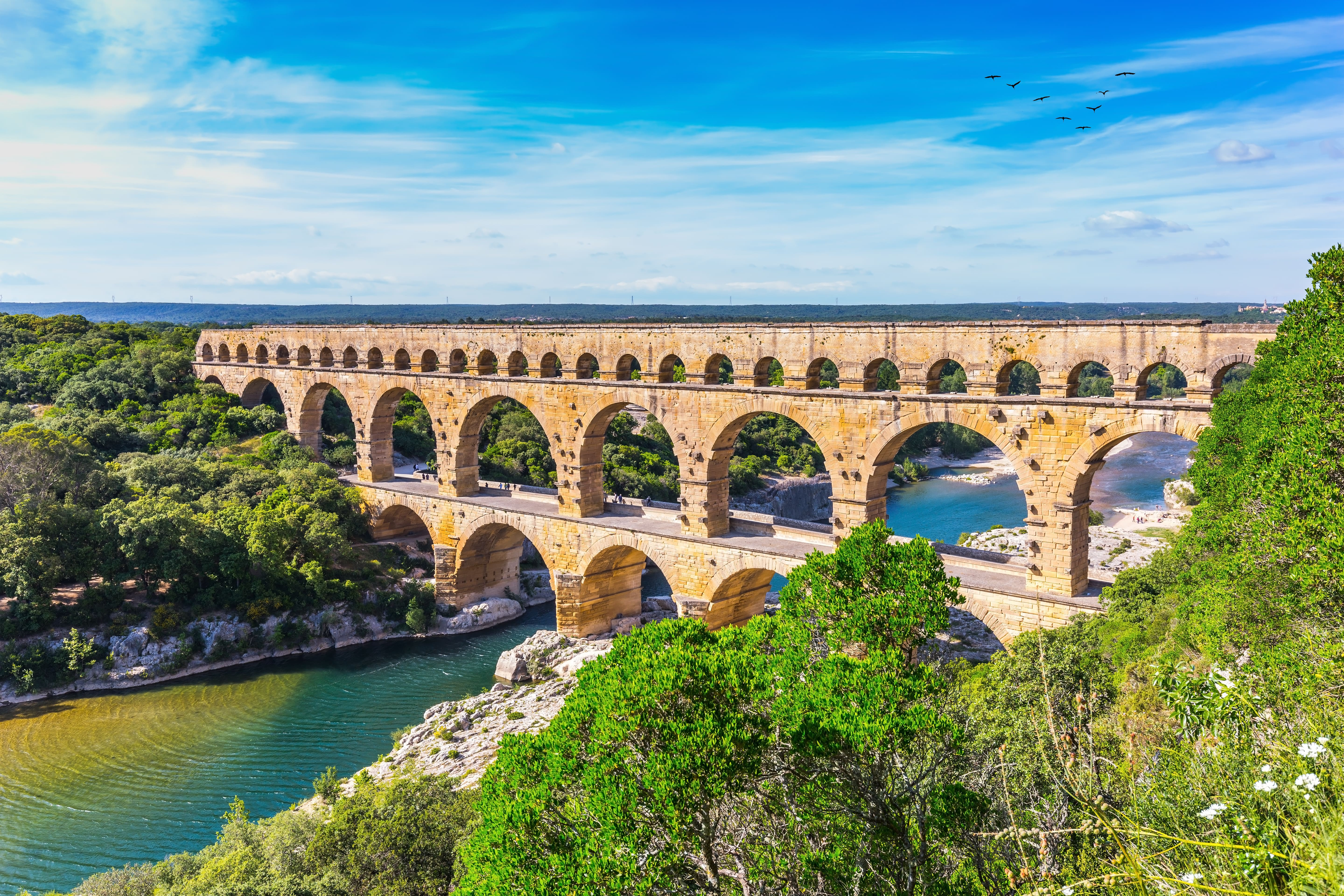 Have a Picnic with a Backdrop of the Pont du Gard