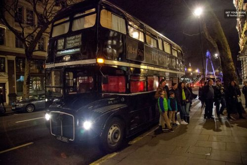 Hop on a London Ghost Bus Tour