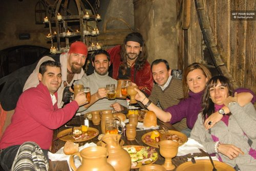 Medieval Dinner with Unlimited Drinks