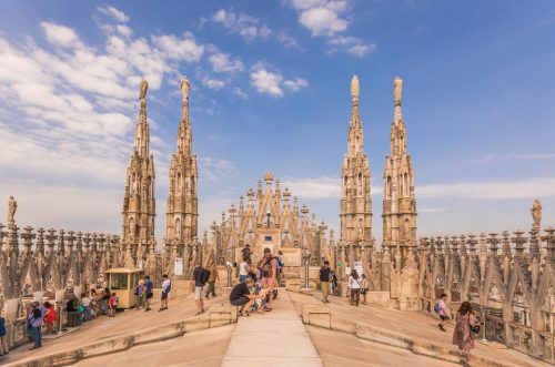 Milan Cathedral Rooftop Tour