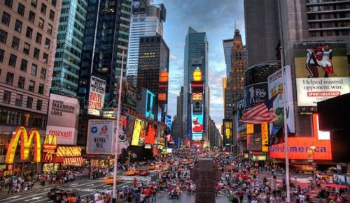 New York City Population History