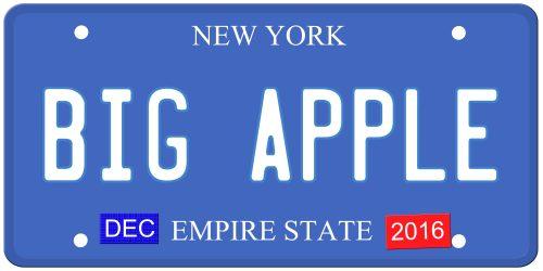 New York License Plates History