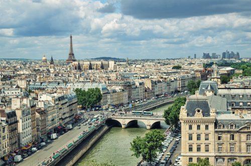 Paris Population History