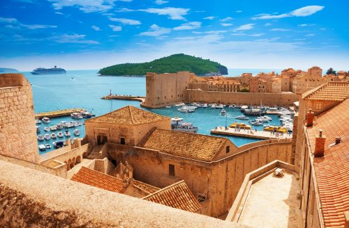 History of the Port of Dubrovink