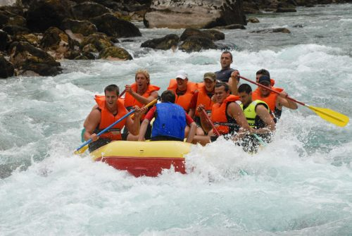 River Tara Rafting in Montenegro