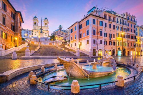 Rome Night Walking Tour