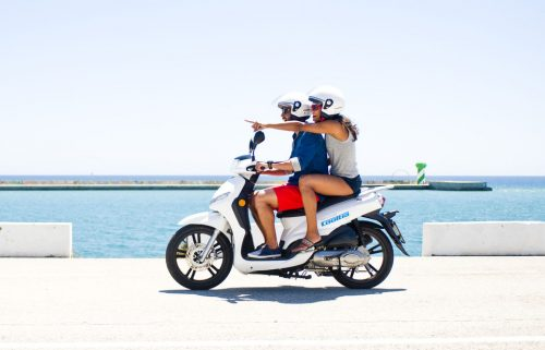 3-wheeled Scooter Rental Tour
