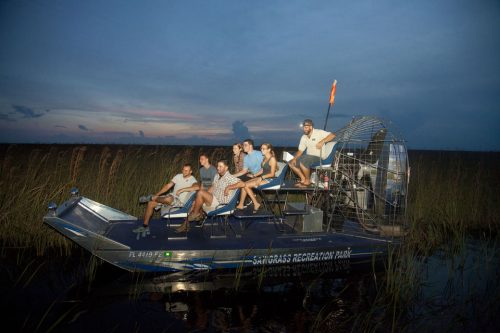 Airboat Night Tour