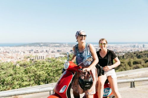 Barcelona Guided Vespa Tour