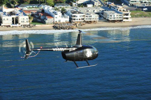 California Coastline Helicopter Ride, USA
