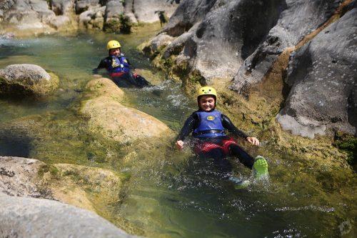 Canyoning on Cetina River