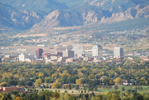 Colorado Springs - Photo credit (WikiMedia)