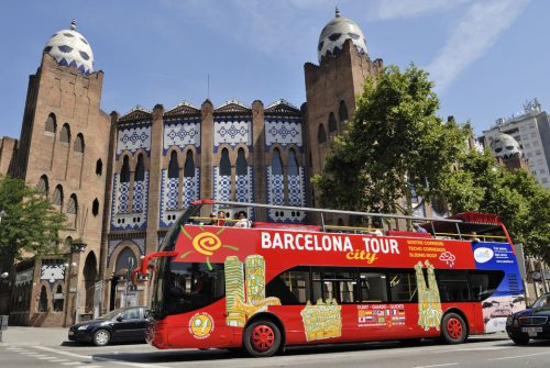 Hop-On Hop-Off & F.C. Barcelona Camp Nou Tour